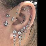 Impresionantes piercings para la oreja